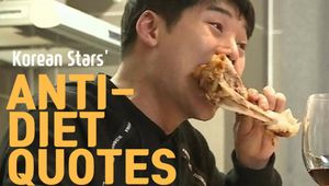 Anti-Diet Quotes by Korean Stars
