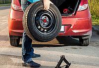 달리는 프리웨이에서 갑자기 타이어가 펑크났다면