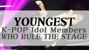 YOUNGEST K-POP IDOL GROUP MENBERS