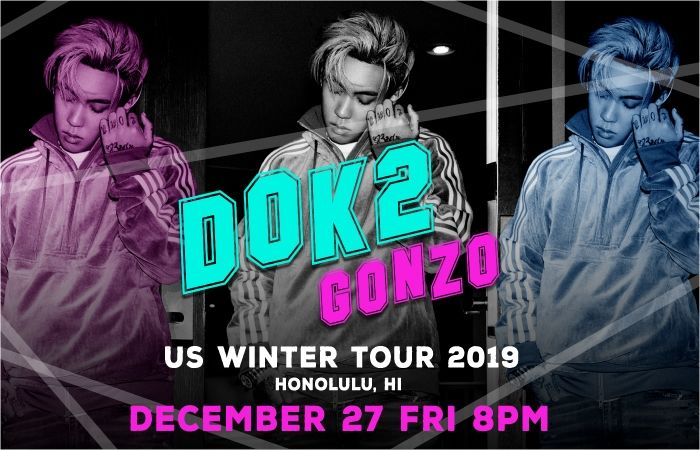 Dok2 gonzo US WINTER TOUR 2019