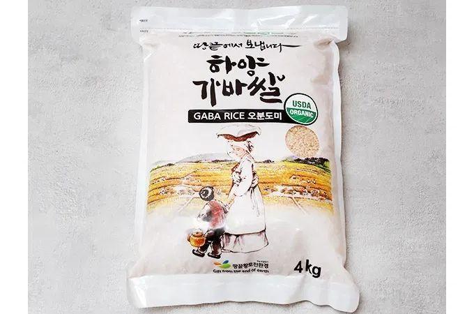 """<font color=#C72700>14%할인</font>땅끝마을 해남에서 경작한 """"유기농 가바쌀"""" 오분도미 4kg"""