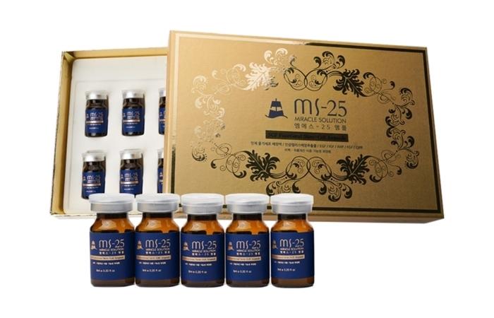 <font color=#C72700>45%할인</font> MS25 인체줄기세포 프리미엄 앰플 6ml